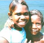 原住民の子供たち